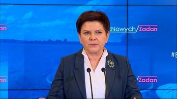 Szydło pytana o rzecznika MON: ta sprawa jest w kompetencji ministra Macierewicza