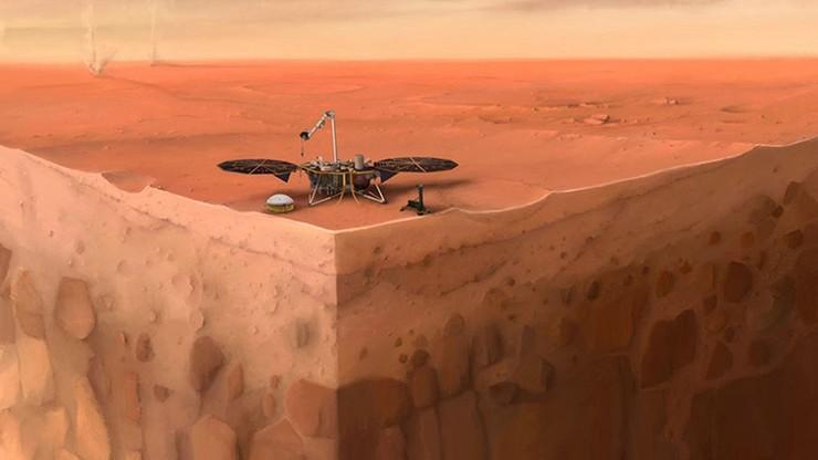 """Mars. Wyłączono próbnik Kret, który miał wkopać się w planetę. Jego """"serce"""" skonstruowali Polacy"""