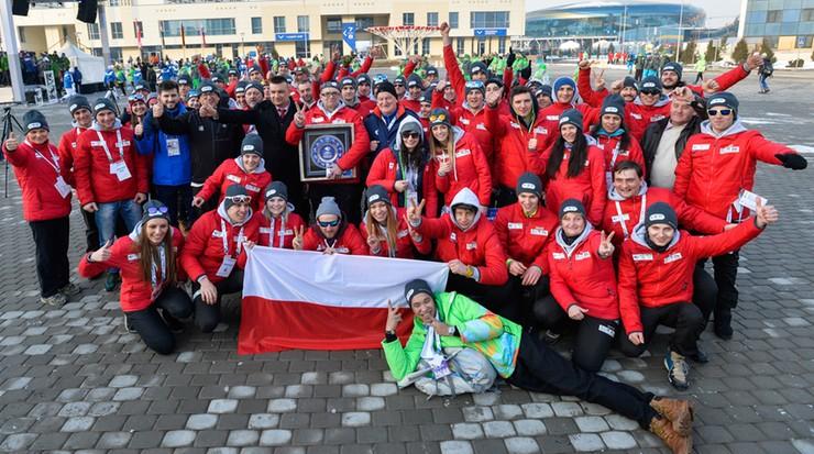 Polska flaga już powiewa w wiosce uniwersjadowej w Ałmatach