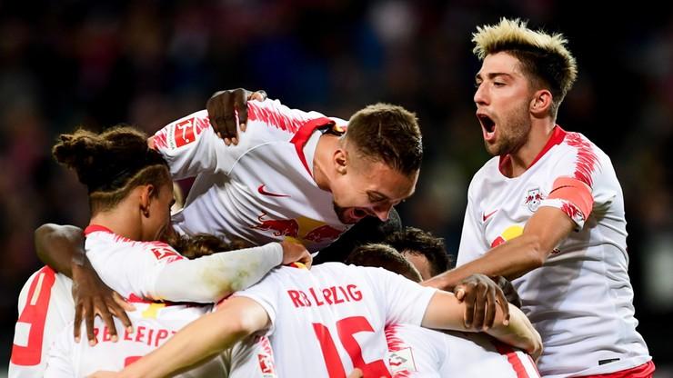 Wygrane RB Lipsk i Eintrachtu Frankfurt, Bayern Monachium coraz niżej