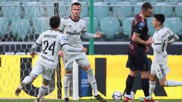 Legia Warszawa wygrała mecz na szczycie. Cztery gole w 30 minut!