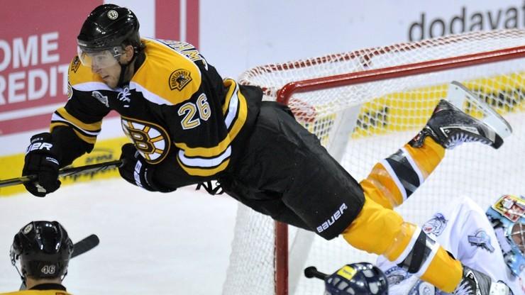 NHL: Patrice Bergeron bohaterem meczu w Filadelfii