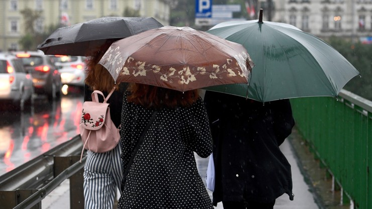 Środa deszczowa i chłodna. Kiedy nastąpi poprawa pogody?