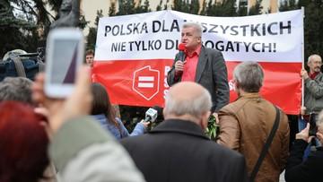 Warszawski marsz Sprawiedliwości Społecznej przeciwko dzikiej reprywatyzacji
