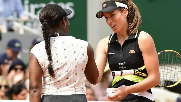 French Open: Konta pierwszą półfinalistką