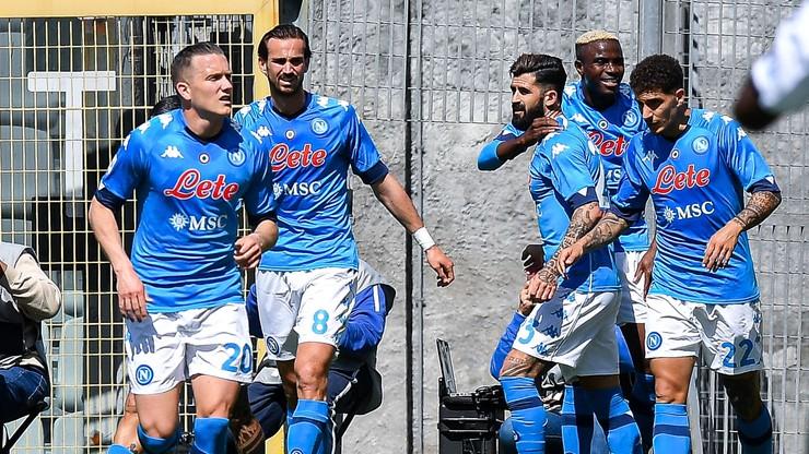 Serie A: Gol i asysta Zielińskiego. Pewna wygrana Napoli (WIDEO)