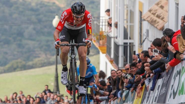 Dookoła Andaluzji: Wellens wygrał czwarty etap i został liderem