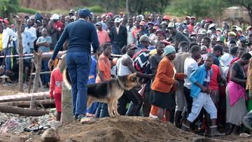 Z zalanej kopalni złota w Zimbabwe uratowano ośmiu górników