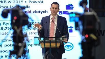 Morawiecki: polski rynek zareagował na Brexit relatywnie łagodnie