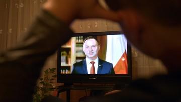 """""""Gdy Polska jest pęknięta, jest Polską słabszą"""". Duda w orędziu z okazji dnia Święta Niepodległości"""
