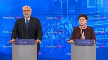 """""""Przedstawimy propozycje koniecznych zmian w UE"""". Premier po spotkaniu z szefem MSZ"""