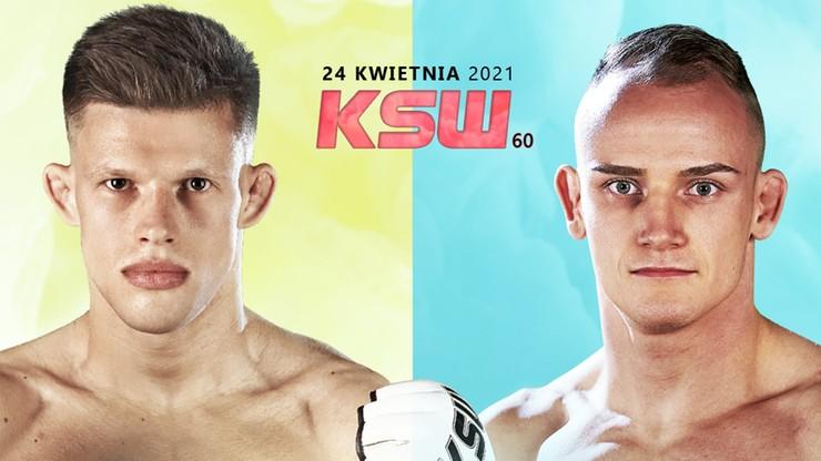 KSW 60: Jakub Wikłacz i Patryk Surdyn skrzyżują rękawice na gali