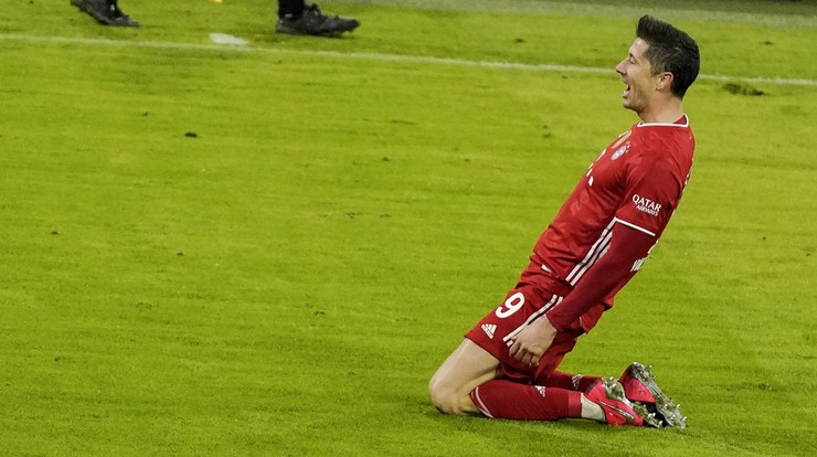 Bundesliga: Rekordowe tempo Roberta Lewandowskiego