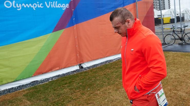 Adrian Zieliński też na dopingu. To dla niego koniec igrzysk