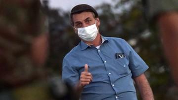 Prezydent Brazylii wyleczony. Pozbył się koronawirusa po prawie trzech tygodniach