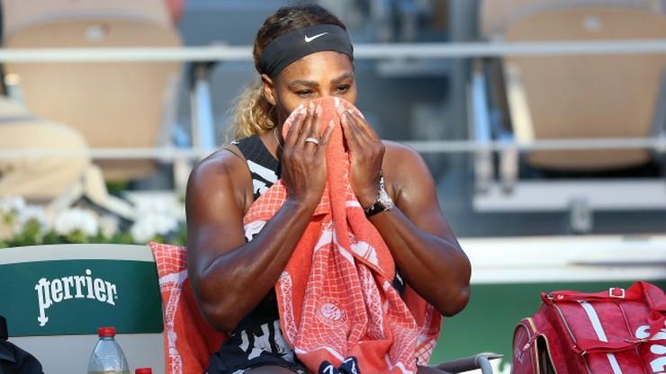 French Open: Koniec gier dla Sereny Williams