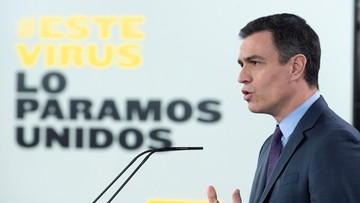 """Hiszpanie manifestują online przeciwko rządowi Sancheza. """"Trumny nie mówią, mówmy my"""""""