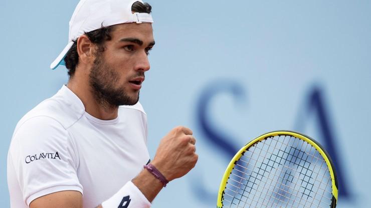 Turniej ATP w Gstaad: Pierwszy triumf Berrettiniego