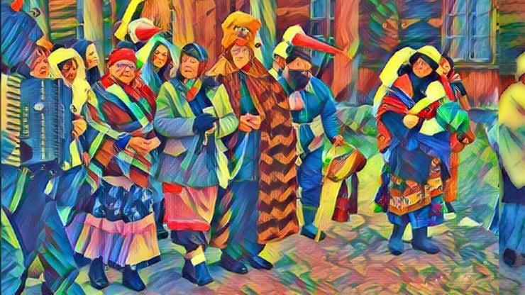 Tradycyjne podlaskie zapusty w białostockim skansenie