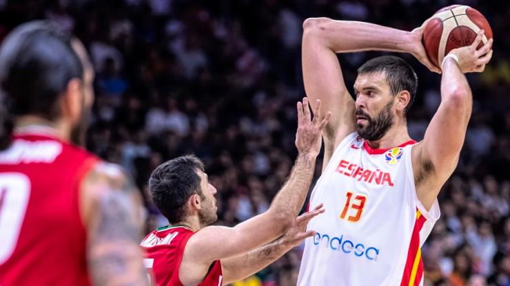 MŚ koszykarzy: Media i gracze Hiszpanii z respektem przed Polską