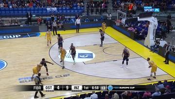 Puchar Europy FIBA: Wszystkie celne rzuty za trzy Jakuba Garbacza