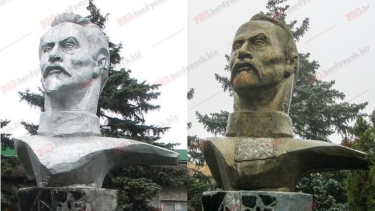 Dzierżyńskiemu przypiłowano brodę i stał się kozackim atamanem. Dekomunizacja na Ukrainie