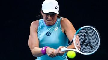 Australian Open: Iga Świątek - Fiona Ferro. Relacja i wynik na żywo