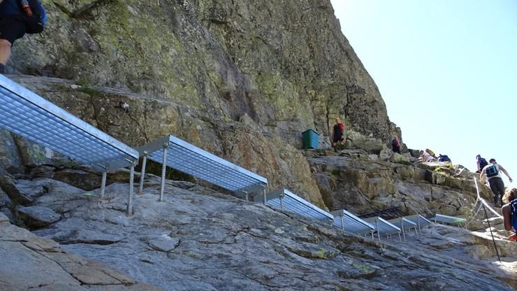 Słowacy zbudowali schody na Rysy. Turyści pytają, gdzie winda