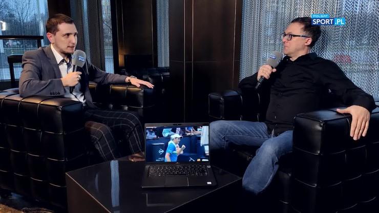 Tomasz Lorek o Hubercie Hurkaczu: Bywały turnieje, w których zarabiał 36 dolarów. To szaleńcza droga na szczyt