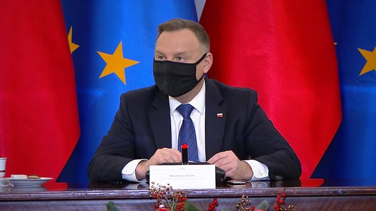 Prezydent Duda zawetował ustawę o działach administracji rządowej