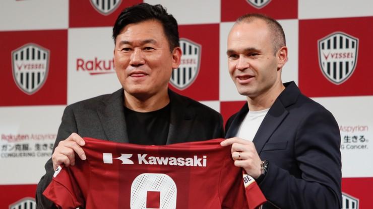 Iniesta oficjalnie nowym piłkarzem Vissel Kobe