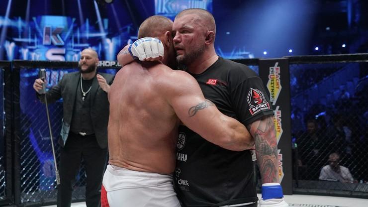 """KSW 61: """"Juras"""" zdradził, co """"Pudzian"""" mówił do niego w trakcie walki"""