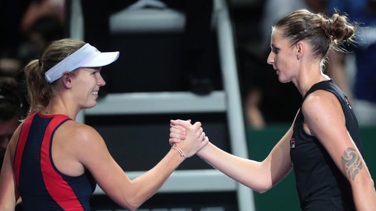 WTA Finals: Pliskova rozpoczęła od zwycięstwa