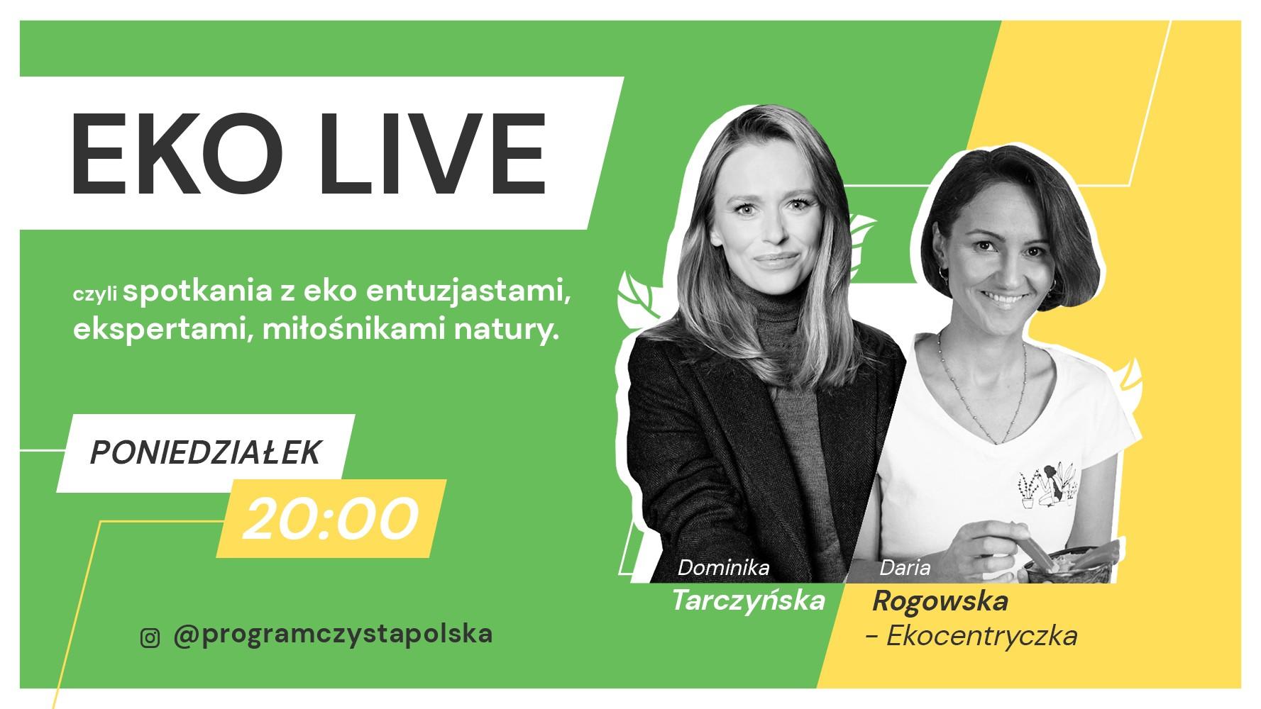 Daria Rogowska na EKO LIVE: Dieta roślinna dla każdego