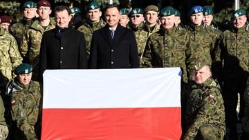 Błaszczak: nie mam wątpliwości, że obecność wojsk USA w Polsce zostanie zwiększona