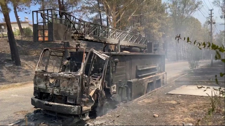 Turcja. W pożarach zginęły 4 osoby. Ambasada RP apeluje o zachowanie czujności