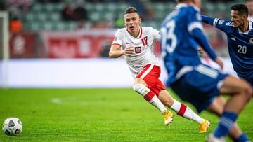 Liga Narodów: Kolejny piłkarz wypadł ze składu reprezentacji Polski
