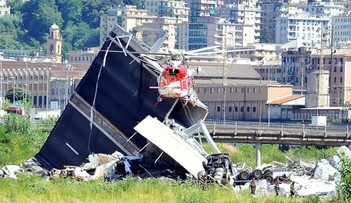 Premier Włoch zapowiedział wprowadzenie stanu kryzysowego po katastrofie w Genui