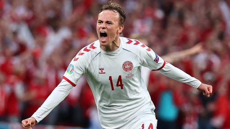Euro 2020: Rosja - Dania 0:1. Gol Mikkela Damsgaarda