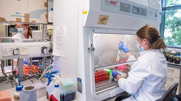 AstraZeneca: skuteczność szczepionki na koronawirusa to ok. 90 proc.