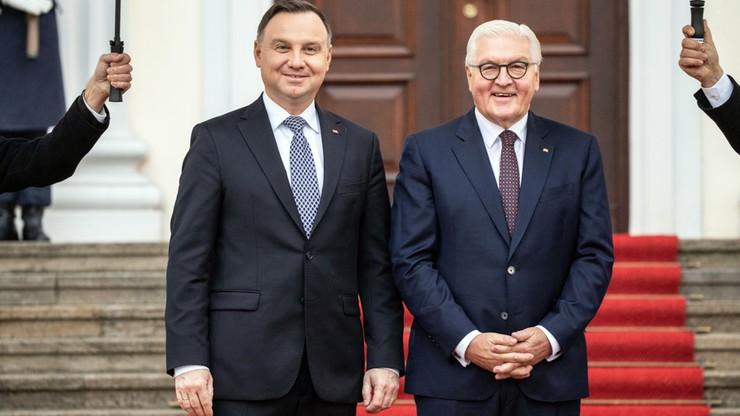 Prezydent Andrzej Duda z wizytą w Niemczech