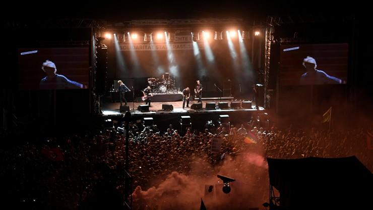 50 tys. ludzi na koncercie przeciw ksenofobii w Chemnitz