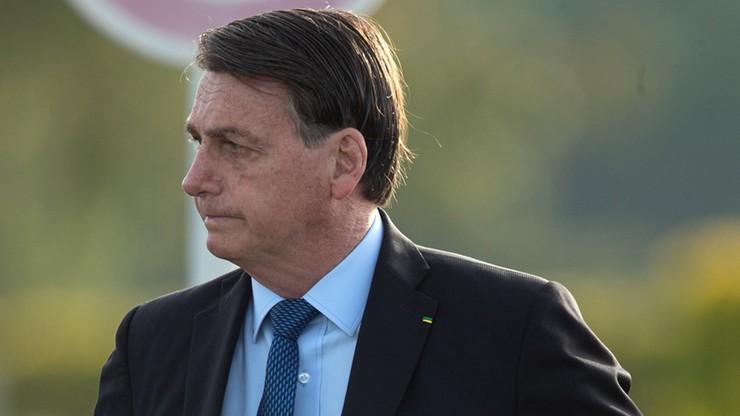 Prezydent Brazylii zakażony koronawirusem. Wcześniej bagatelizował epidemię