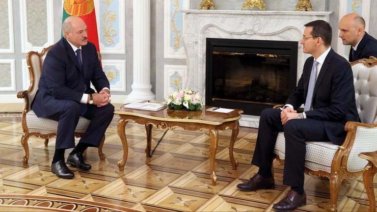Morawiecki: zostaliśmy zaproszeni do udziału w prywatyzacji na Białorusi