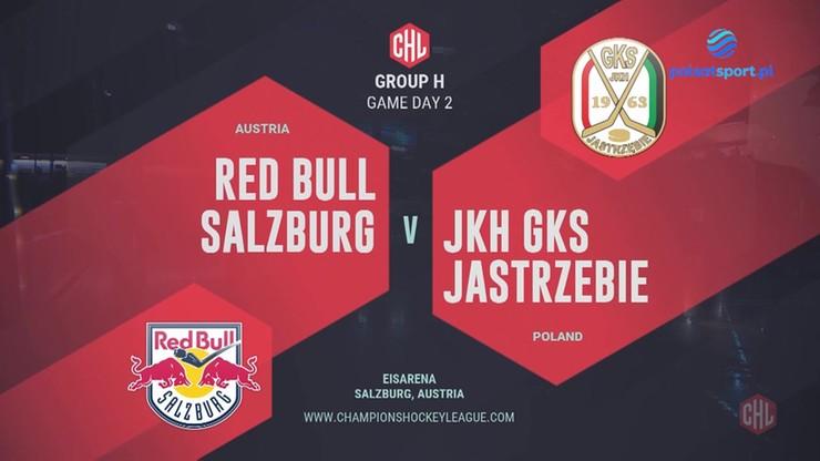 Liga Mistrzów: Red Bull Salzburg - JKH GKS Jastrzębie 6:1. Skrót meczu