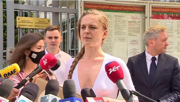Jana Shostak: Boję się o swoje życie. Tajniacy z Białorusi wszystko nagrywają