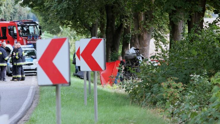 Tragiczny wypadek w Opatowie. Zginął 18-latek, dwoje nastolatków w szpitalu
