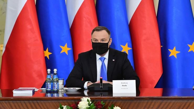 Prezydent skieruje do Sejmu projekt nowelizacji ustawy o Sądzie Najwyższym