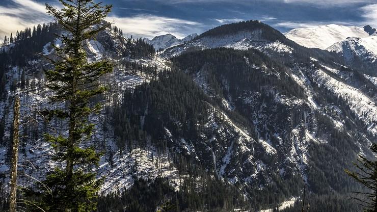Śnieg w Tatrach. Temperatura spadła poniżej zera