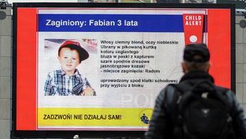 Zarzuty ws. porwania 3-letniego Fabiana. Policja nadal szuka chłopca
